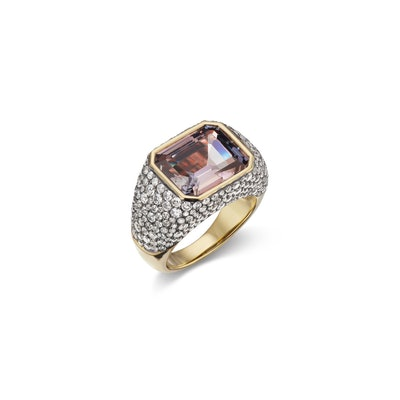 Nomad Pave Ring
