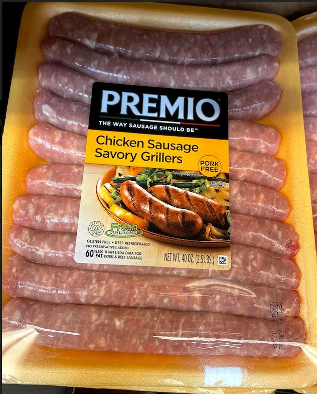 premio chicken sausage