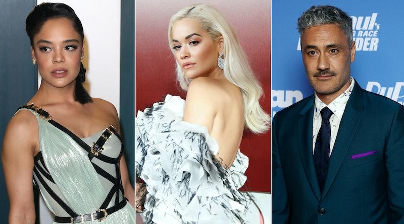Taika Waititi, Rita Ora, & Tessa Thompson