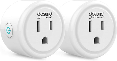 Gosund WiFi Outlets (2 Pack)