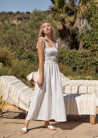 Beachside Pier Maxi Dress