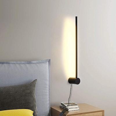 Ditoon Modern LED Wall Sconce Plug Lamp