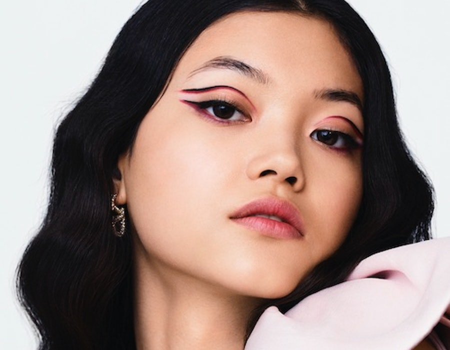 Valentino beauty first look model