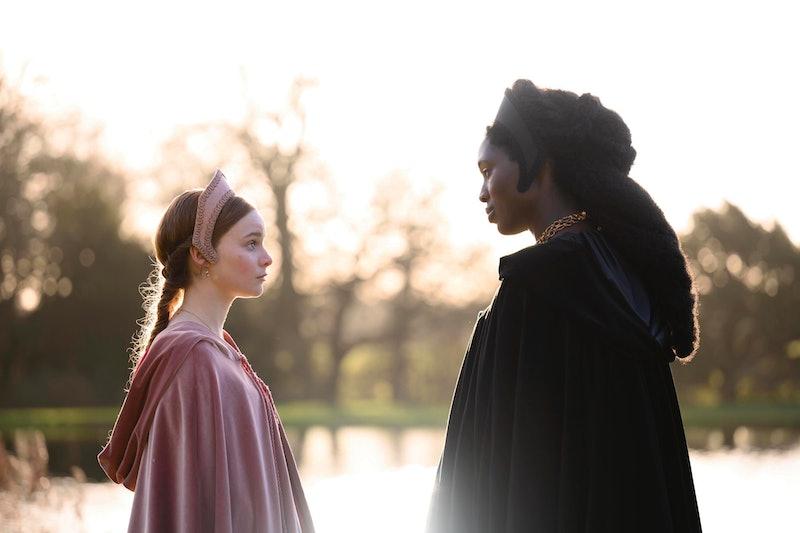 Anne Boleyn (Played by Jodie Turner-Smith) Jane Seymour (Played by Lola Petticrew)