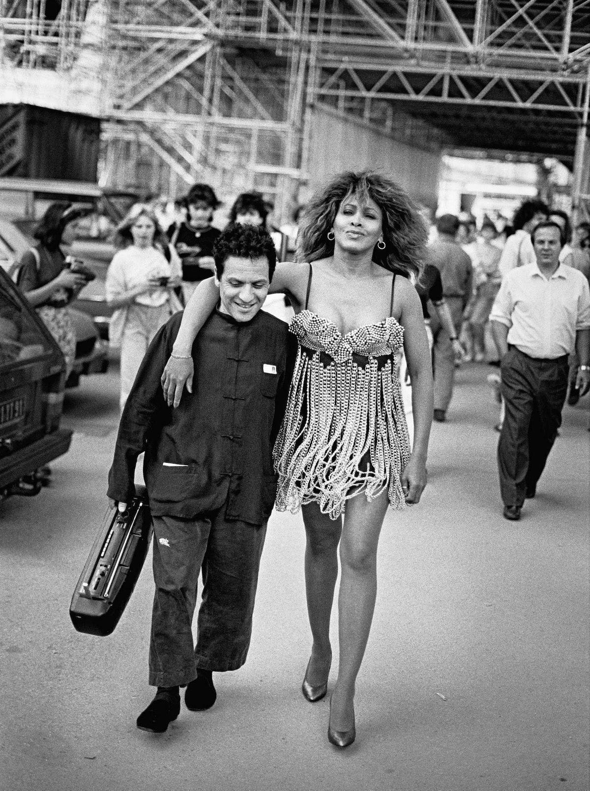 Azzedine Alaïa & Tina Turner in Paris