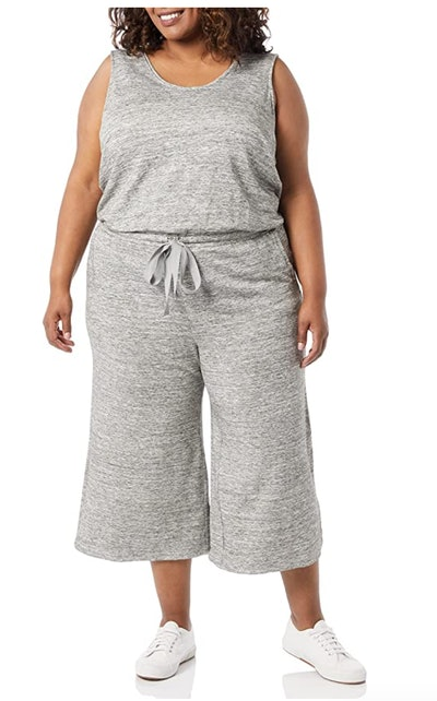 Daily Ritual Sleeveless Wide-Leg Jumpsuit
