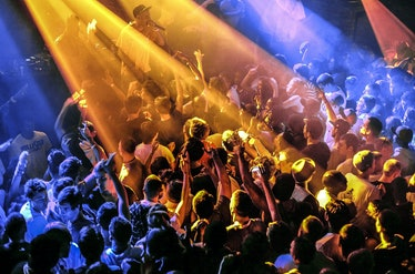 The crowd at Fabric, London, 2010. PYMCA/Universal Images Group via Getty Images.
