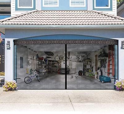 LOOBANI Garage Door Screen