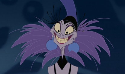 Yzma as the villain in Disney's 'The Emperor's New Groove'