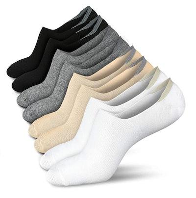wernies No-Show Low-Cut Socks (4 Pairs)
