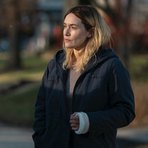 Kate Winslet as Mare in 'Mare of Easttown' episode 6, via HBO press site.