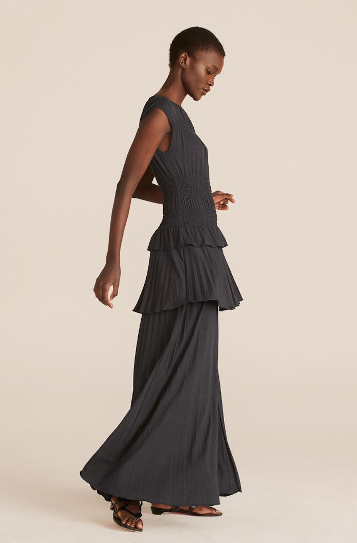 Shirring Tier Dress