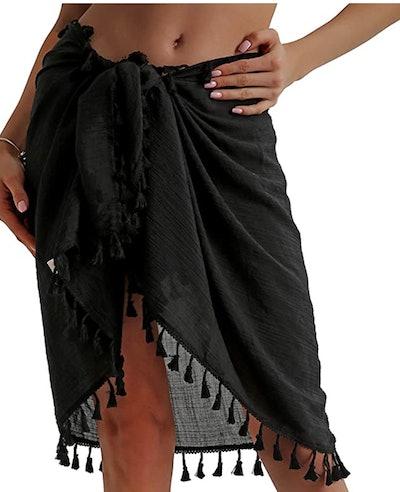 Eicolorte Semi-Sheer Swimsuit Cover-Up