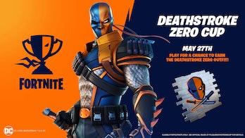 fortnite deathstroke zero cup rewards