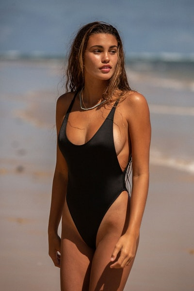 Out From Under Erica Scoop Neck One-Piece Swimsuit