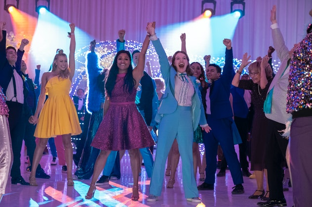 'The Prom' was directed by Ryan Murphy and is based on a Broadway play of the same name.