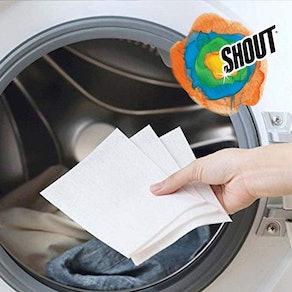Shout Color Catcher Laundry Sheets
