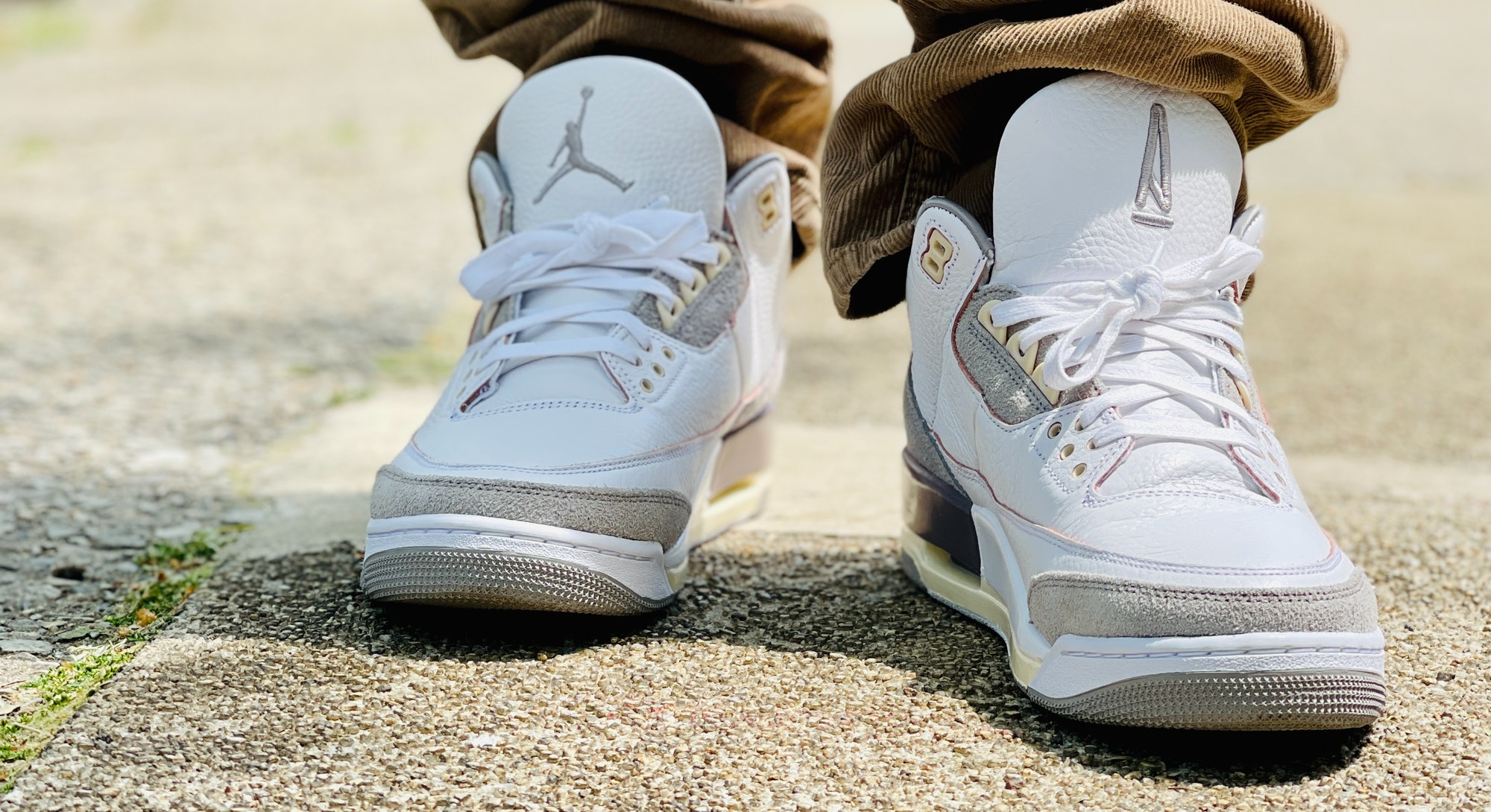 Nike Air Jordan 3 A Ma Maniére on feet review. Style. Shoes. Sneakers. Fashion.