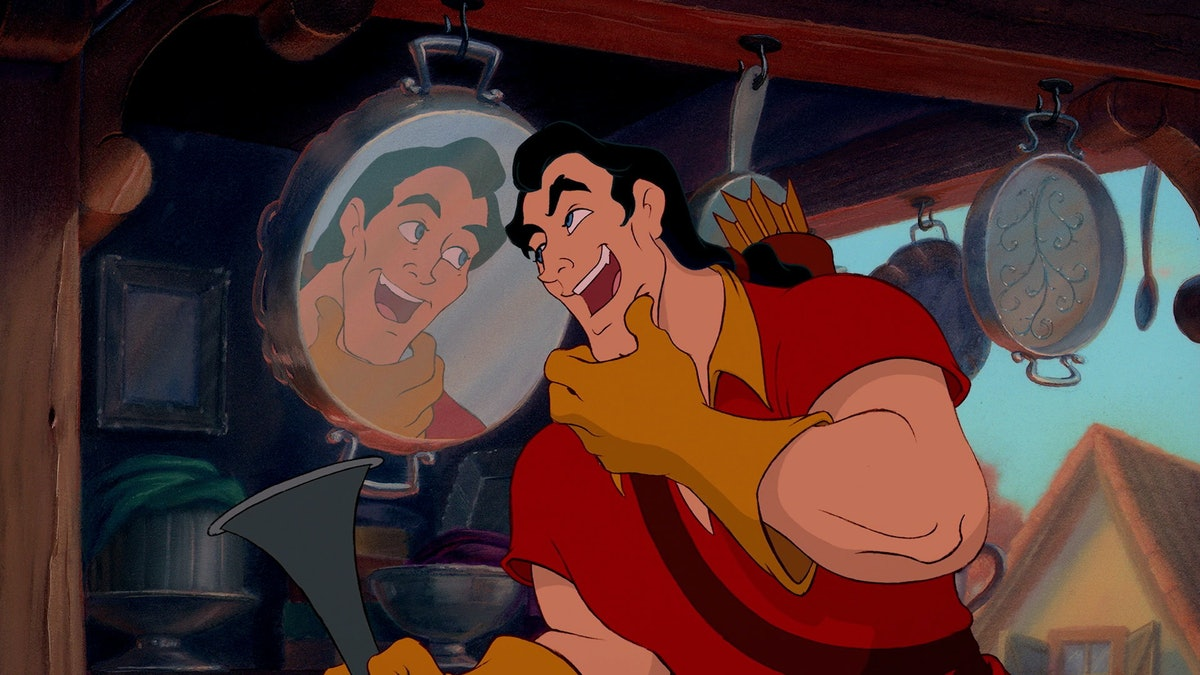 Gaston as the villain in Disney's 'Beauty and the Beast'.