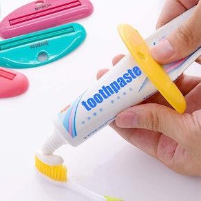 LoveInUsa Toothpaste Tube Squeezer Dispenser (4-Pack)