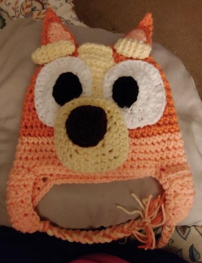 ajmomscrochet Bingo-Inspired Knit Hat