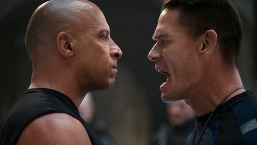Vin Diesel's Dom comes head-to-head with brother Jakob (John Cena) in F9.