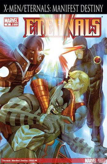 Marvel Comics x-men eternals