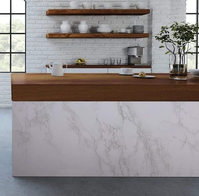 practicalWs Removable Marble Contact Paper