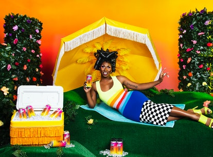 Goose Island and Shea Couleé are back with a Pride Month beer collab.