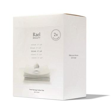 Rael Beauty Soak It Up Facial Sponge Cotton Pad (200-Pack)