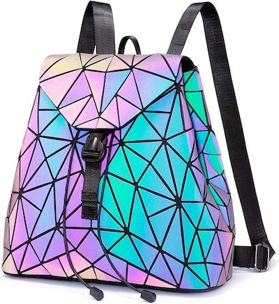 LOVEVOOK Geometric Luminous Backpack