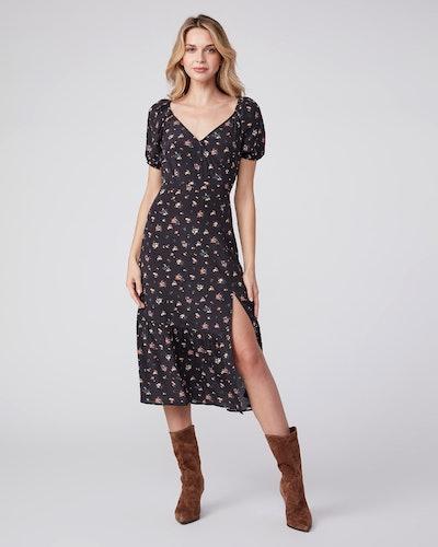 Gjelina Dress - Black Multi