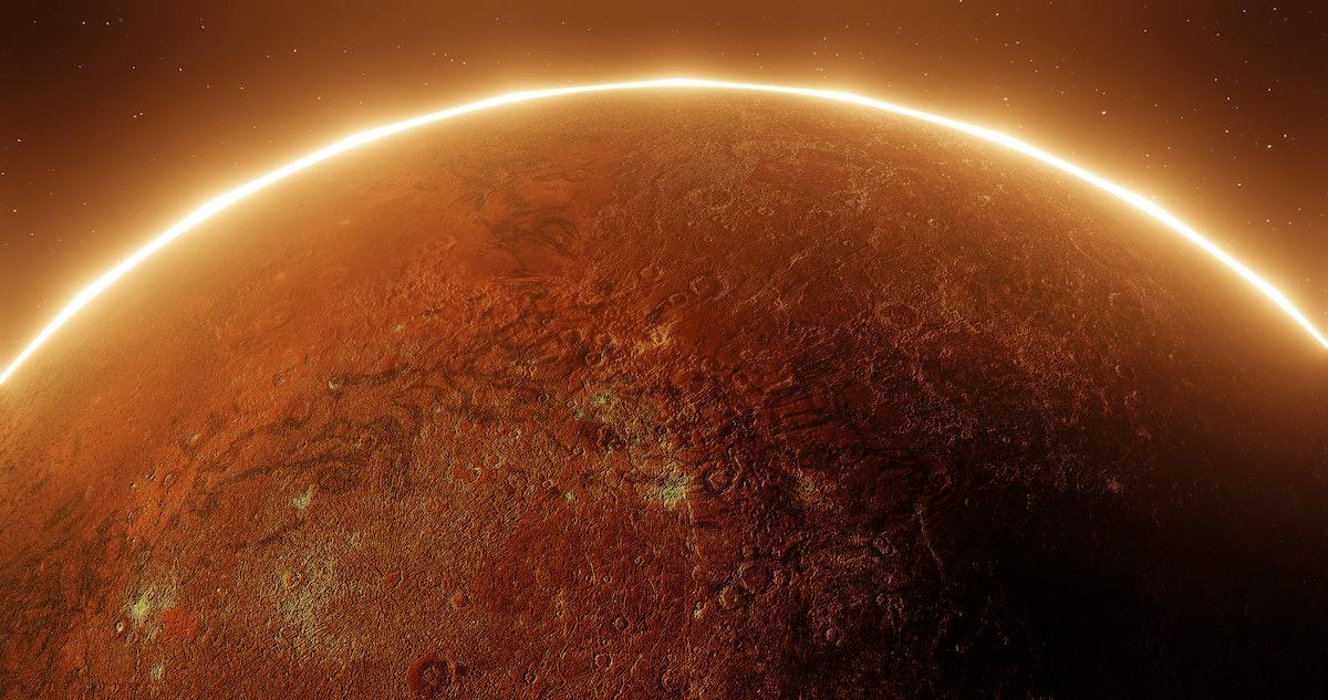 Planet Mercury in retrograde.