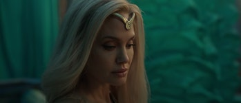 Angelina Jolie as Thena in Eternals