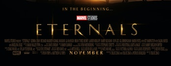 Marvel Eternals poster credits