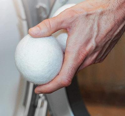 S&T Wool Dryer Balls (6- Pack)