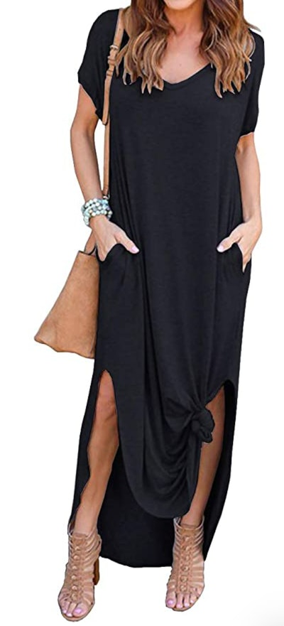 GRECERELLE Split Maxi Dress