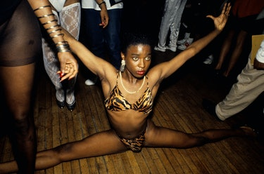 A drag ball in New York City, 1988.