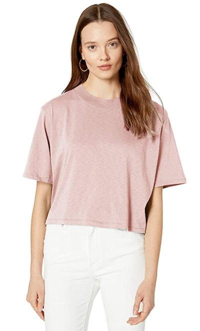 The Drop Sydney Short-sleeve Cropped Crew Neck T-shirt
