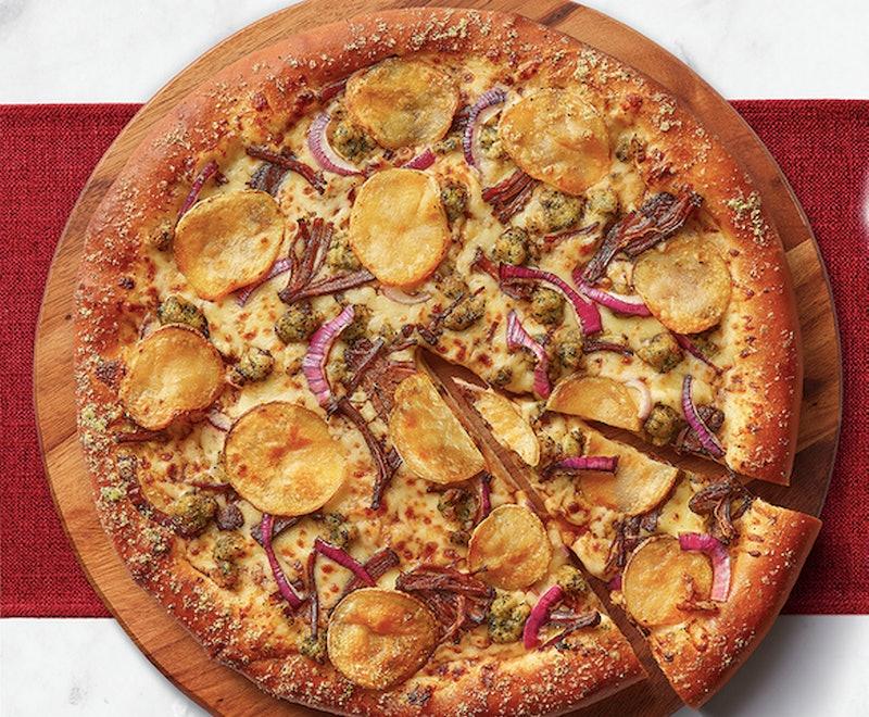 Pizza Hut's new Roast Dinner Pizza