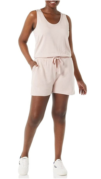 Daily Ritual Terry Relaxed Fit Sleeveless Romper