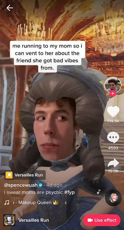 The best Versailles Run TikTok filter memes include jokes about bad friendships.