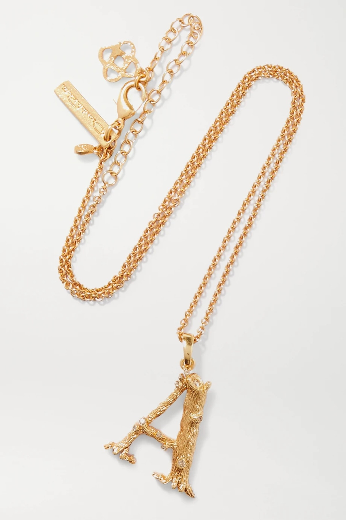 Letter Gold-Plated Necklace