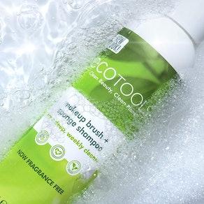 Ecotools Makeup Brush & Sponge Cleansing Shampoo (6 oz)