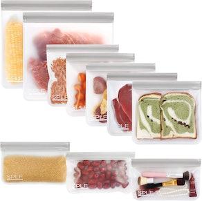 SPLF Reusable Storage Bags (10-Pack)