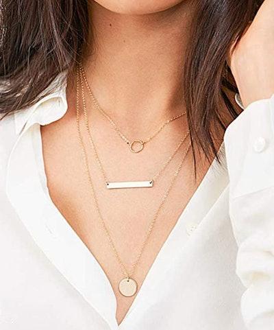 Turandoss Layered Choker Necklace