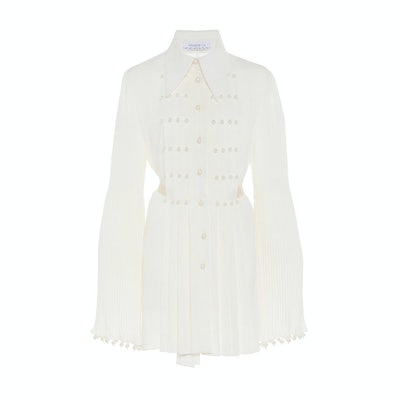 Andrew GN Pearl-Embellished Top
