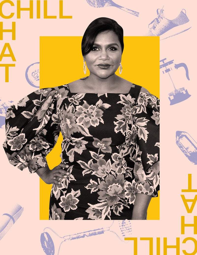 Mindy Kaling on her go-to wellness habits and morning workout routine.