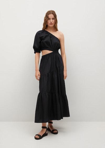Vent Cotton Dress