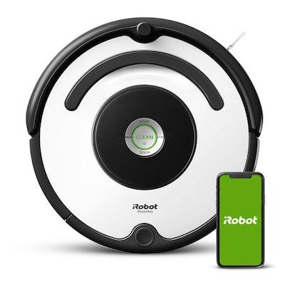 iRobot Roomba 670 Robot Vacuum-Wi-Fi Connectivity